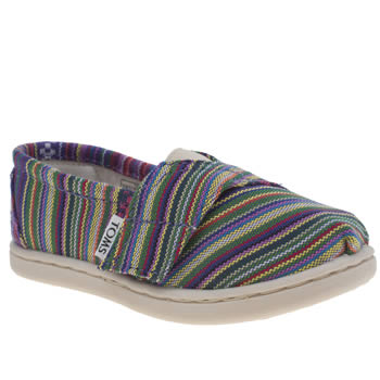 Girls Toms Multi Seasonal Classic Girls Toddler
