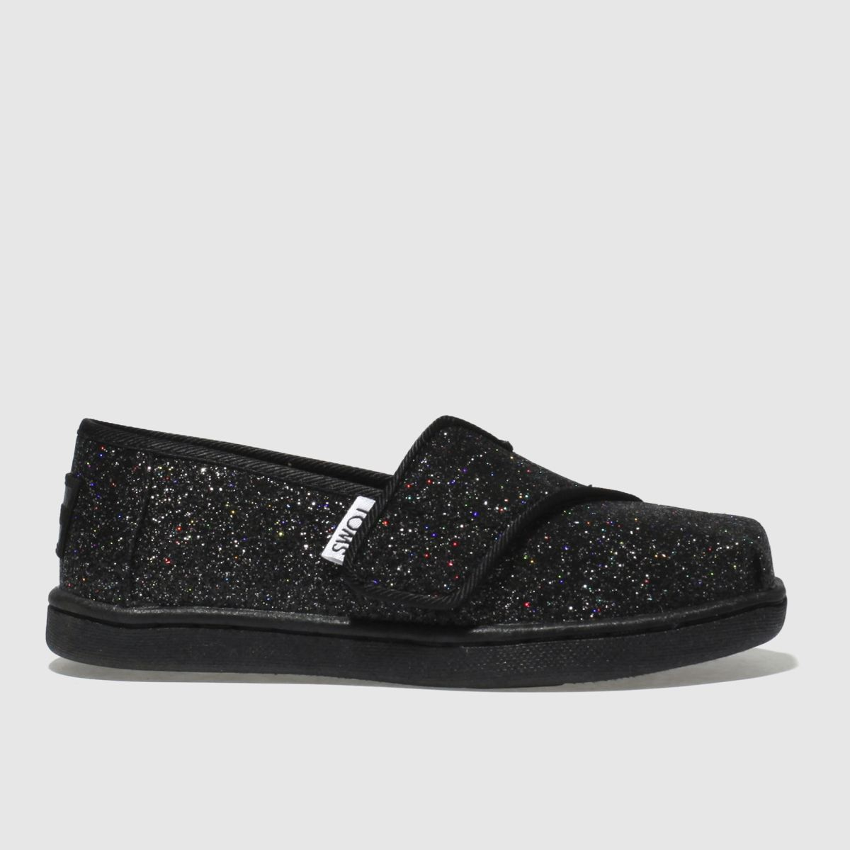 Toms Black Classic Boots Toddler