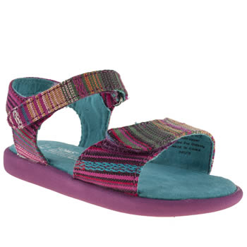 Toms Multi Sandals Girls Toddler