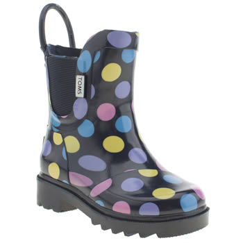 Toms Multi Rain Boot Girls Toddler