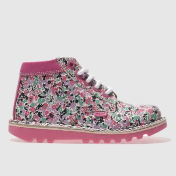 Kickers Multi Kick Hi Joules Girls Toddler