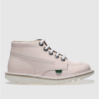 Kickers Pale Pink Hi Core Girls Toddler