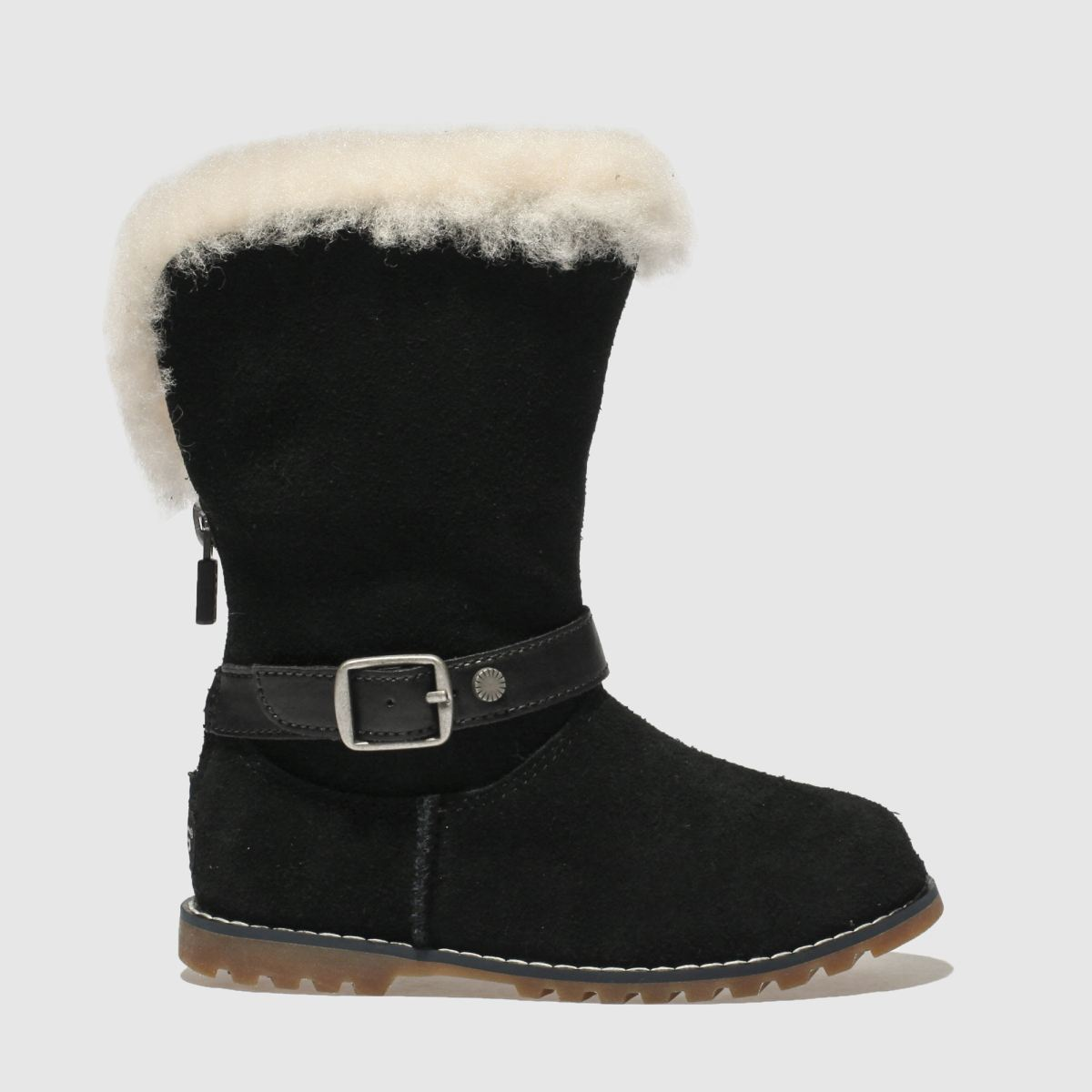 Ugg Black Nessa Boots Toddler