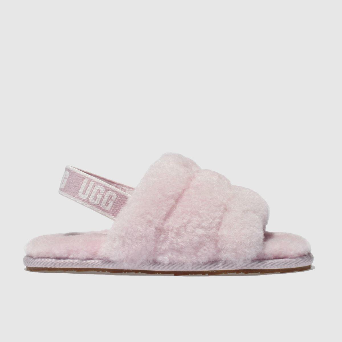 Ugg Pale Pink Fluff Yeah Slide Girls Toddler Toddler