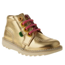Toddler Gold Kickers Zippy