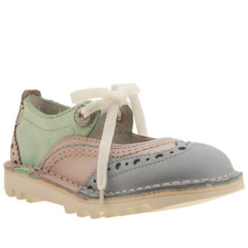 Kickers Multi Broglace 2 Girls Toddler