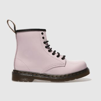 Dr Martens Pale Pink Brooklee Girls Toddler