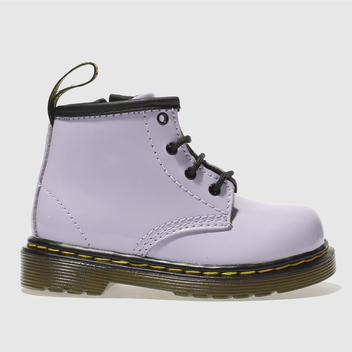 dr martens lilac brooklee boot Girls Toddler Boots