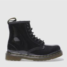 Toddler Black Dr Martens Brooklee Boot Patent