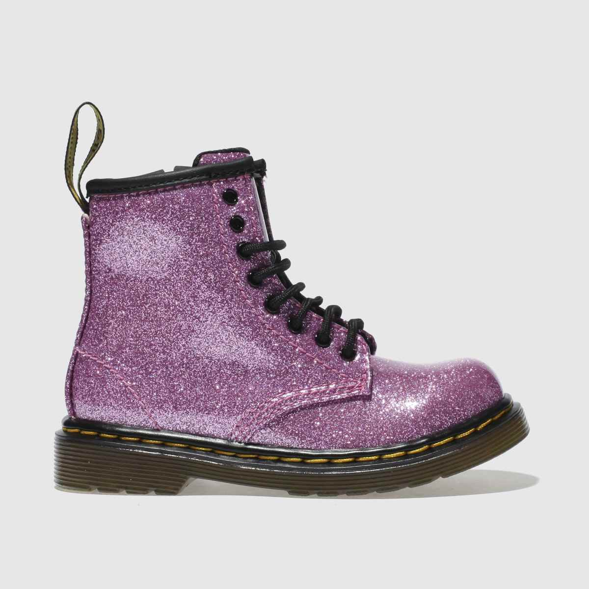 Dr Martens Pink 1460 Glitter Girls Toddler Boots