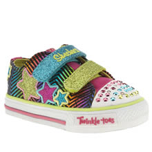 Toddler Multi Skechers Triple Up