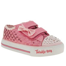 Toddler Pink Skechers Sweet Steps