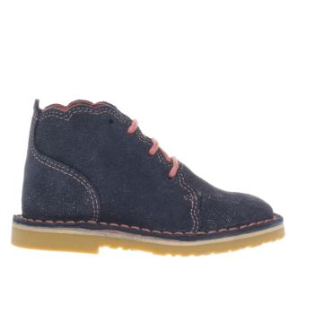 Girls Kickers Navy Adlar Petal Girls Toddler