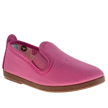 Flossy Pink Pamplona Girls Toddler