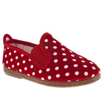 Flossy Red Polka Girls Toddler