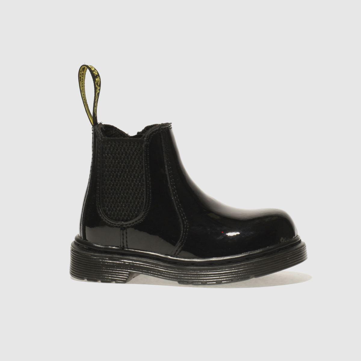 Dr Martens Black 2976 Girls Toddler Boots