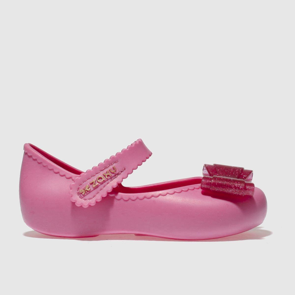 Zaxy Zaxy Pink Enchanted Bow Girls Toddler Shoes