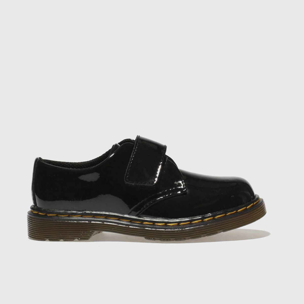 Dr Martens Black Kamron Girls Toddler Shoes