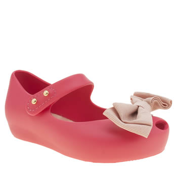 Melissa Pink Ultragirl Ribbon Girls Toddler