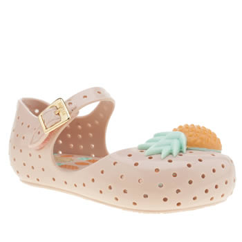 Melissa Pale Pink Furadinha Pineapple Girls Toddler