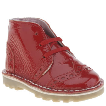 Hush Puppies Red Truer Girls Toddler