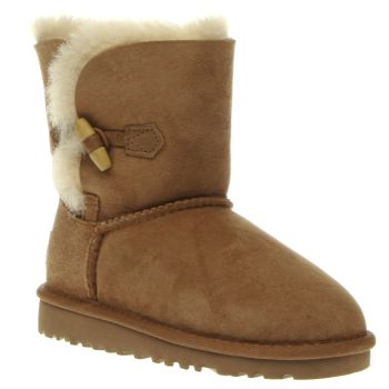 Ugg Australia Tan Ebony Girls Toddler
