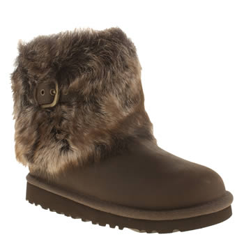 Girls Ugg Australia Dark Brown Ellee Girls Toddler