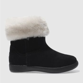 Ugg Black Jorie Girls Toddler