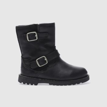 Girls Ugg Australia Black Harwell Girls Toddler