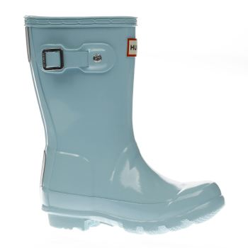 Hunter Pale Blue Original Gloss Girls Toddler