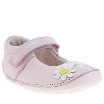Clarks Pink Little Jam Girls Toddler
