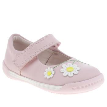 CLARKS PINK SOFTLY JAM FST GIRLS TODDLER SHOES