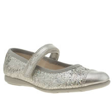 Clarks Silver Dance Idol Girls Toddler