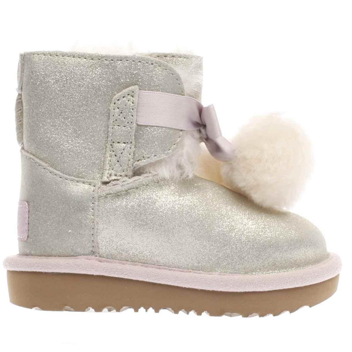 ugg gold gita metallic Girls Toddler Boots