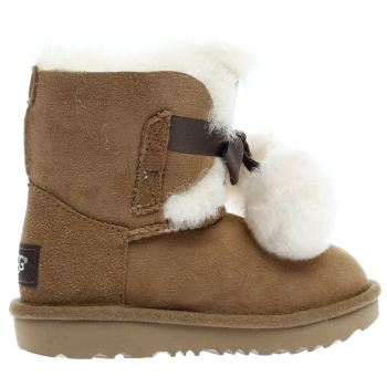 Ugg Tan GITA Girls Toddler