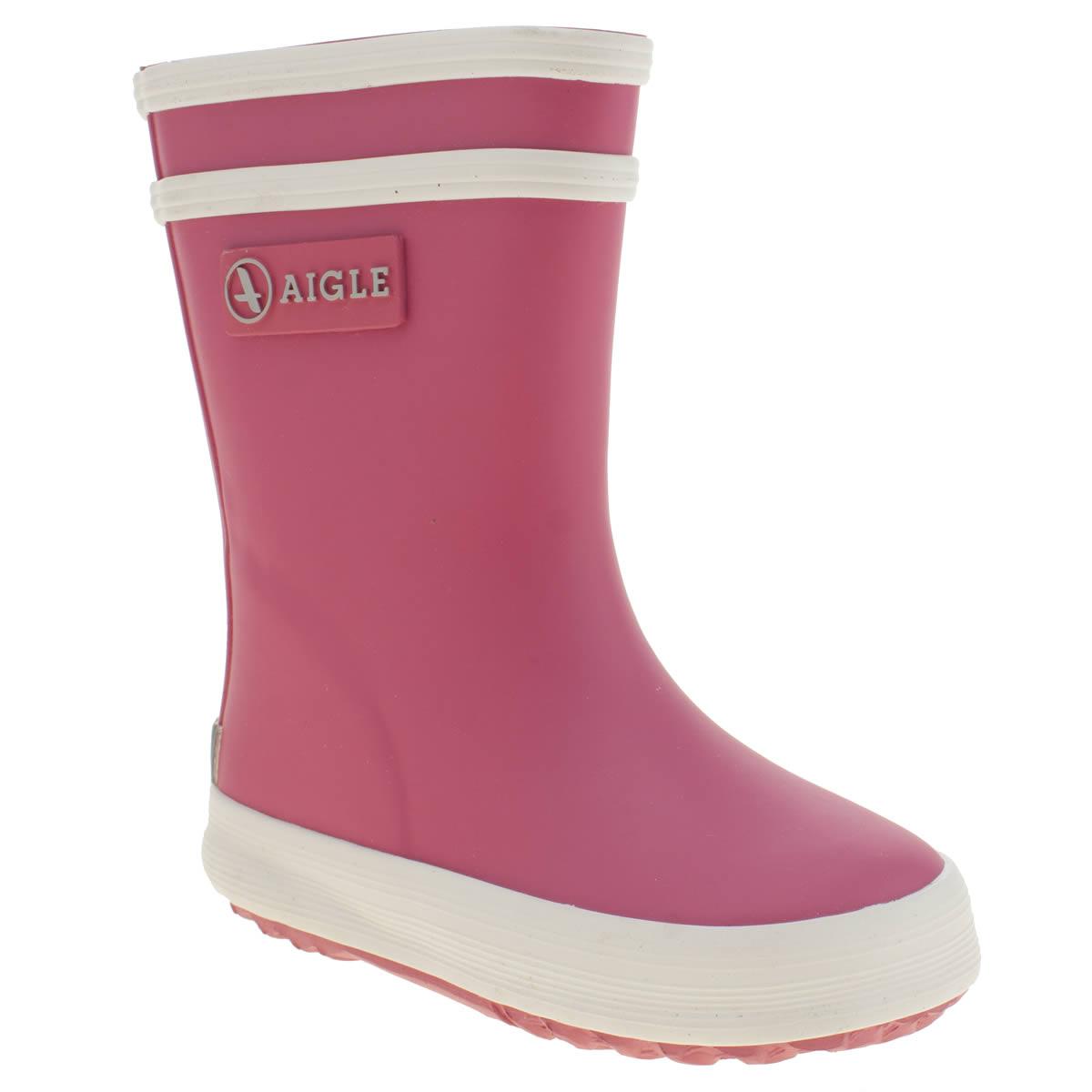Aigle Aigle Pink Baby Flac Girls Toddler
