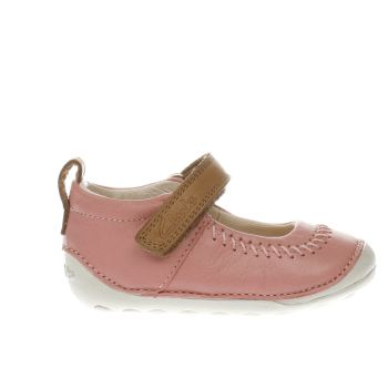 Clarks Pink Little Atlas Girls Toddler