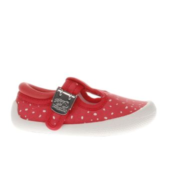 Clarks Pink Choc Cake Girls Toddler