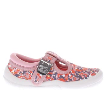 Clarks Multi Briley Bow Fst Girls Toddler