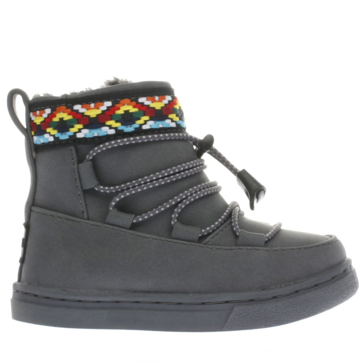 toms dark grey alpine boot Girls Toddler Boots