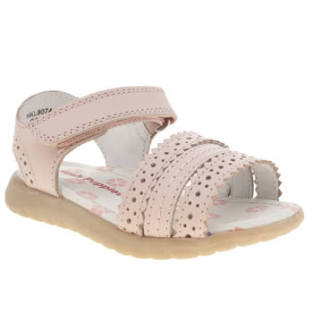 Hush Puppies Pale Pink Oakham Girls Toddler