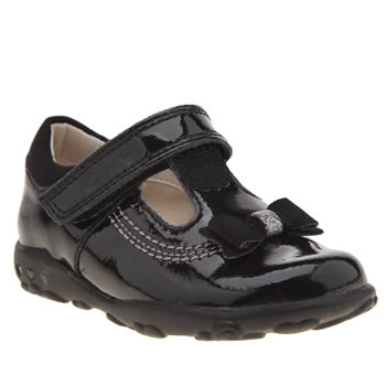 Clarks Black Ella Ruby Fst Girls Toddler