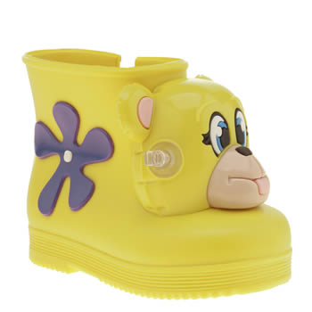 Melissa Yellow Jeremy Scott Monkey Girls Toddler