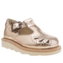 Young Soles Bronze Rosie Girls Toddler