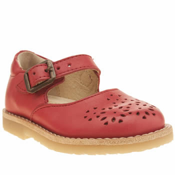 Young Soles Red Delilah Girls Toddler