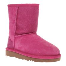Ugg Australia Pink Classic Short Serein Girls Toddler