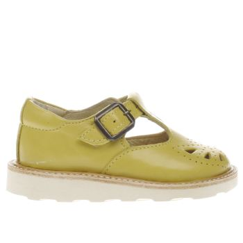 Young Soles Yellow Rosie Girls Toddler