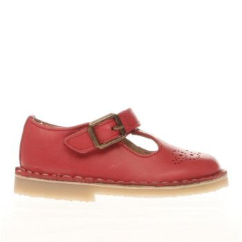 Young Soles Red Penny Girls Toddler