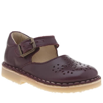 Young Soles Burgundy Delilah Girls Toddler