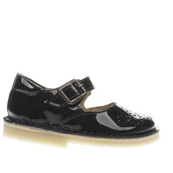 Young Soles Black Delilah Girls Toddler